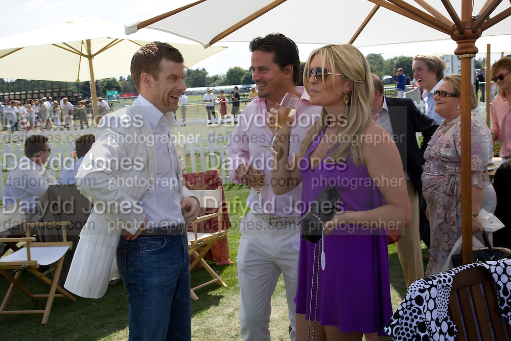 2008 Cartier International Polo Day, Guards Polo Club. Windsor.  July 27, 2008 in Windsor TOM AIKENS; TINA HOBLEY, 2008 Cartier International Polo Day, Guards Polo Club. Windsor.  July 27, 2008 in Windsor *** Local Caption *** -DO NOT ARCHIVE-© Copyright Photograph by Dafydd Jones. 248 Clapham Rd. London SW9 0PZ. Tel 0207 820 0771. www.dafjones.com. -DO NOT ARCHIVE-© Copyright Photograph by Dafydd Jones. 248 Clapham Rd. London SW9 0PZ. Tel 0207 820 0771. www.dafjones.com.