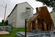 "Thomas Hirschhorn/France, ""Bataille Monument"" (social art project, 2002)"