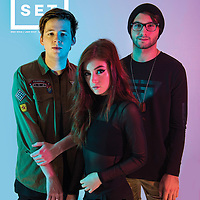Against The Current photographed for Upset Magazine, December 2016