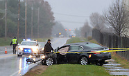 Woman Injured In Northampton Crash
