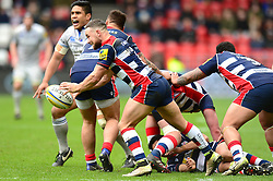 Alby Mathewson of Bristol Rugby  - Mandatory by-line: Dougie Allward/JMP - 26/02/2017 - RUGBY - Ashton Gate - Bristol, England - Bristol Rugby v Bath Rugby - Aviva Premiership