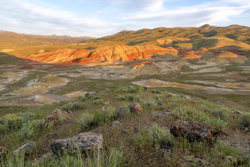 Painted Hills,John Day Fossil Beds National Monument, Oregon