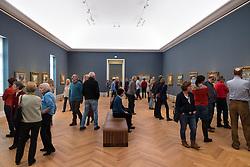 Visitors at new Museum Barberini in Potsdam Germany