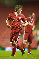 LIVERPOOL, ENGLAND - Thursday, May 14, 2009: Liverpool Legends' John Bishop during the Hillsborough Memorial Charity Game at Anfield. (Photo by David Rawcliffe/Propaganda)