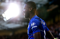 Chelsea's Antonio Rudiger celebrates scoring his side's first goal of the game