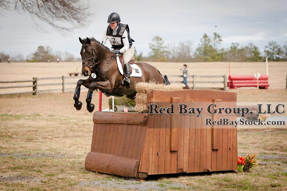Kim Severson and Fernhill Fearless at the 2014 Pine Top Farm Advanced Horse Trials in Thomson, Georgia.