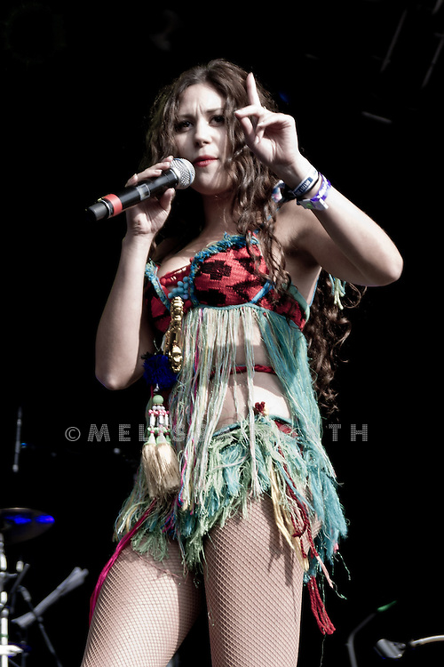 Eliza Doolittle performs at Camp Bestival, Lulworth on 30 July 2011. Photo by Melissa North / JSN Photography