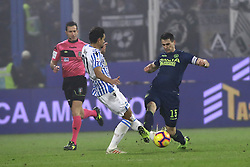 "Foto /Filippo Rubin<br /> 26/12/2018 Ferrara (Italia)<br /> Sport Calcio<br /> Spal - Udinese - Campionato di calcio Serie A 2018/2019 - Stadio ""Paolo Mazza""<br /> Nella foto: KEVIN LASAGNA (UDINESE)<br /> <br /> Photo /Filippo Rubin<br /> December 26, 2018 Ferrara (Italy)<br /> Sport Soccer<br /> Spal vs Udinese - Italian Football Championship League A 2018/2019 - ""Paolo Mazza"" Stadium <br /> In the pic: KEVIN LASAGNA (UDINESE)"