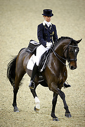 Hoet Anouck (BEL) - Wild Diamond<br /> FEI World Cup Dressage Final for Young Riders<br /> Frankfurt 2009<br /> Photo© Hippo Foto - Leanjo de Koster