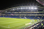 The American Express Community Stadium during the Sky Bet Championship match between Brighton and Hove Albion and Ipswich Town at the American Express Community Stadium, Brighton and Hove, England on 29 December 2015.