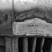 Dodge Brothers Truck Hood Ornament - Motor Transport Museum - Campo, CA - Black & White