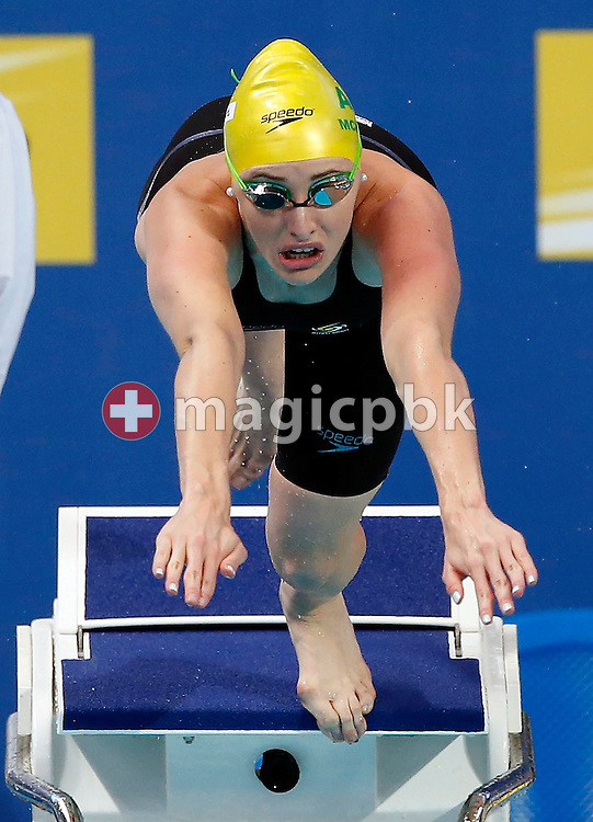 Taylor McKEOWN of Australia competes in the women's 200m Breaststroke Heats during the 16th FINA World Swimming Championships held at the Kazan arena in Kazan, Russia, Thursday, Aug. 6, 2015. (Photo by Patrick B. Kraemer / MAGICPBK)