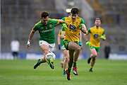 30/03/2019, Allianz Football League Rionn 2 Final at Croke Park,<br /> Meath vs Donegal<br /> James McEntee (Meath) & Caolan McGonagle (Donegal)<br /> David Mullen / www.cyberimages.net<br /> ISO: 1600; Shutter: 1/1250; Aperture: 4; <br /> File Size: 2.9MB