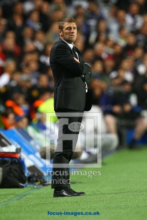 Picture by Paul Chesterton/Focus Images Ltd +44 7904 640267.19/09/2012.Juventus Manager Antonio Conte during the UEFA Champions League match at Stamford Bridge, London.