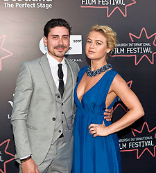 Edinburgh International Film Festival, Saturday, 23rd June 2018<br /> <br /> LUCID (WORLD PREMIERE)<br /> <br /> Pictured:  Sebastian Sabene and Katie Goldfinch<br /> <br /> (c) Alex Todd | Edinburgh Elite media