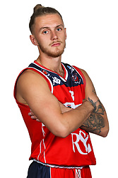 Jordan Nicholls poses for a headshot during the Bristol Flyers Media Day - Rogan/JMP - 16/09/2017 - Ashton Gate Stadium - Bristol, England.