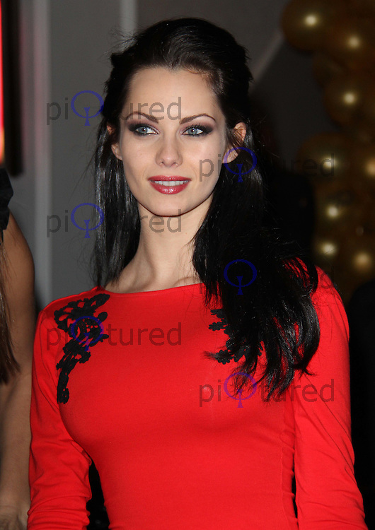 Jessica-Jane Clement Playboy Energy Drink UK Launch Party, Funky Buddha, Mayfair, London, UK, 18 November 2010: piQtured Sales: Ian@Piqtured.com +44(0)791 626 2580 (picture by Richard Goldschmidt)