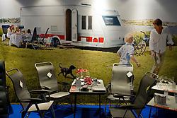 MCH: Ferie for alle 2012DK caption:.Herning, Danmark, 20120224: MCH Messe - Ferie for alle. Camping vogne.Foto: Lars Møller.UK Caption:.Herning, Denmark, 20120224: MCH Fair - Ferie for alle. Camping .Photo: Lars Moeller