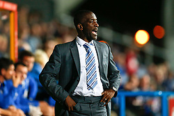 Manager Chris Powell of Huddersfield - Photo mandatory by-line: Rogan Thomson/JMP - 07966 386802 - 16/09/2014 - SPORT - FOOTBALL - Huddersfield, England - The John Smith's Stadium - Huddersfield Town v Wigan Athletic - Sky Bet Championship.