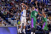 DESCRIZIONE : Eurolega Euroleague 2015/16 Group D Unicaja Malaga - Dinamo Banco di Sardegna Sassari<br /> GIOCATORE : MarQuez Haynes<br /> CATEGORIA : Tiro Tre Punti Three Point<br /> SQUADRA : Dinamo Banco di Sardegna Sassari<br /> EVENTO : Eurolega Euroleague 2015/2016<br /> GARA : Unicaja Malaga - Dinamo Banco di Sardegna Sassari<br /> DATA : 06/11/2015<br /> SPORT : Pallacanestro <br /> AUTORE : Agenzia Ciamillo-Castoria/L.Canu