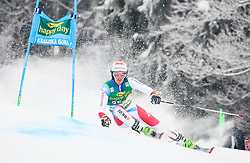 Elia Zurbriggen of Switzerland competes during 1st run of Men's GiantSlalom race of FIS Alpine Ski World Cup 57th Vitranc Cup 2018, on March 3, 2018 in Kranjska Gora, Slovenia. Photo by Ziga Zupan / Sportida