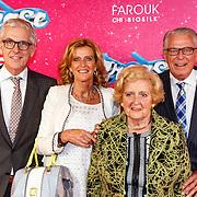 NLD/Tilburg/20150913 - Premiere musical Grease, ouders Bert Verlinde en moeder Henny en zus Albert Verlinde