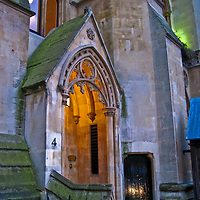 Entrance to the Abbey Cloister at Westminster