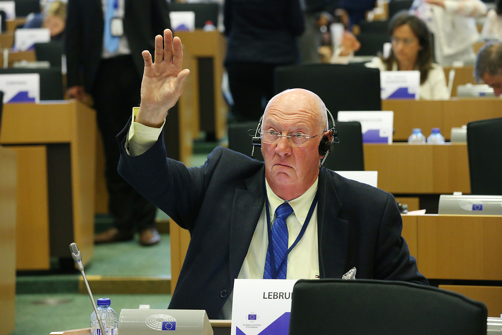 11 May 2017, 123rd Plenary Session of the European Committee of the Regions <br /> Belgium - Brussels - May 2017 <br /> <br /> Mr LEBRUN Michel, Member of Viroinval Municipal Council, Belgium<br /> &copy; European Union / Patrick Mascart