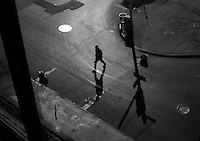 Window view, 29th and 8th Avenue, Manhattan, NYC