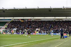 Bristol Rovers fans at Home park - Mandatory by-line: Dougie Allward/JMP - 17/03/2018 - FOOTBALL - Home Park - Plymouth, England - Plymouth Argyle v Bristol Rovers - Sky Bet League One