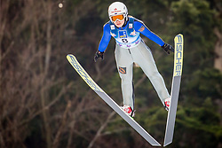 Aleksandra Barantceva (RUS) during 1st Round at Day 1 of FIS Ski Jumping World Cup Ladies Ljubno 2018, on January 27, 2018 in Ljubno ob Savinji, Ljubno ob Savinji, Slovenia. Photo by Ziga Zupan / Sportida