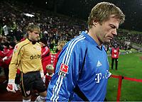 Fotball<br /> Tyskland 2004/05<br /> DFB-Pokal<br /> Bayern München v Vfb Stuttgart<br /> 10. november 2004<br /> Foto: Digitalsport<br /> NORWAY ONLY<br /> Torwart Timo Hildedbrand, Torwart Oliver Kahn Bayern