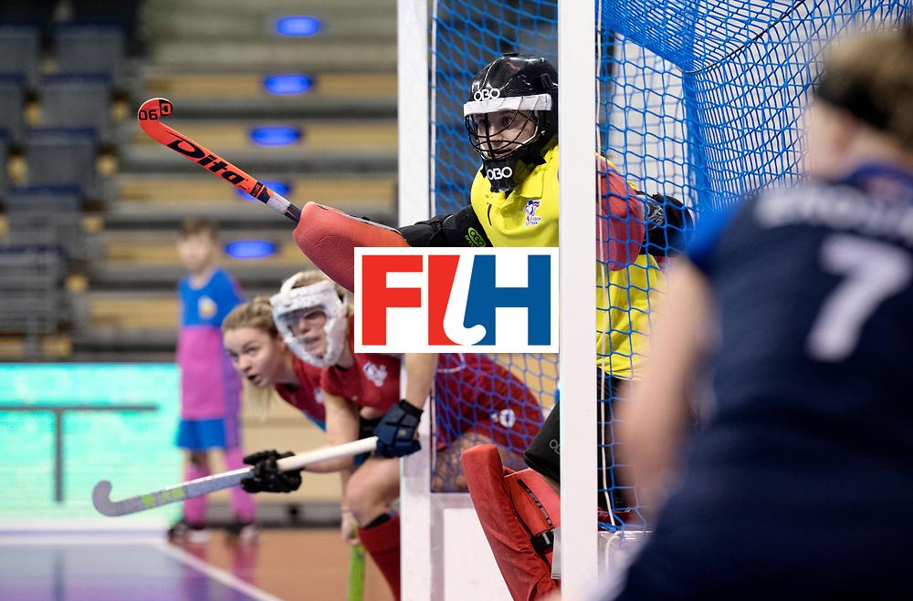 BERLIN - Indoor Hockey World Cup<br /> Women: Russia - Czech Republic<br /> foto: CECHAKOVA Barbora.<br /> WORLDSPORTPICS COPYRIGHT FRANK UIJLENBROEK