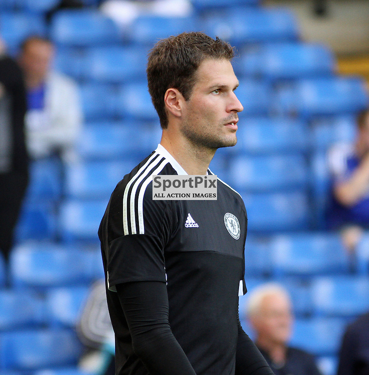 New Chelsea Signing, goalkeeper Asmir Begovic Chelsea vs Swansea on the 8th August 2015.