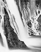 Burney Falls at twilight, McArthur-Burney Falls Memorial State Park, California