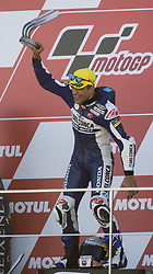 November 12, 2017 - Valencia, Valencia, Spain - 88 Jorge Martin (Spa) Del Conca Gresini Moto3 Honda during the race day of the Gran Premio Motul de la Comunitat Valenciana, Circuit of Ricardo Tormo,Valencia, Spain. Sunday 12th of november 2017. (Credit Image: © Jose Breton/NurPhoto via ZUMA Press)