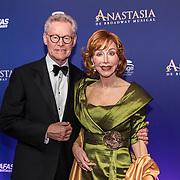 NLD/Scheveningen/20190922- Premiere Musical Anastasia, Marijke Helwegen en partner Harry Helwegen
