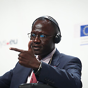 20160615 - Brussels , Belgium - 2016 June 15th - European Development Days - Climate and development - The water-energy-food nexus - Can it help us deliver the Sustainable Development Goals ? - Honoré Feizouré - Minister, Ministry of Agriculture and Rural Development, Central African Republic © European Union