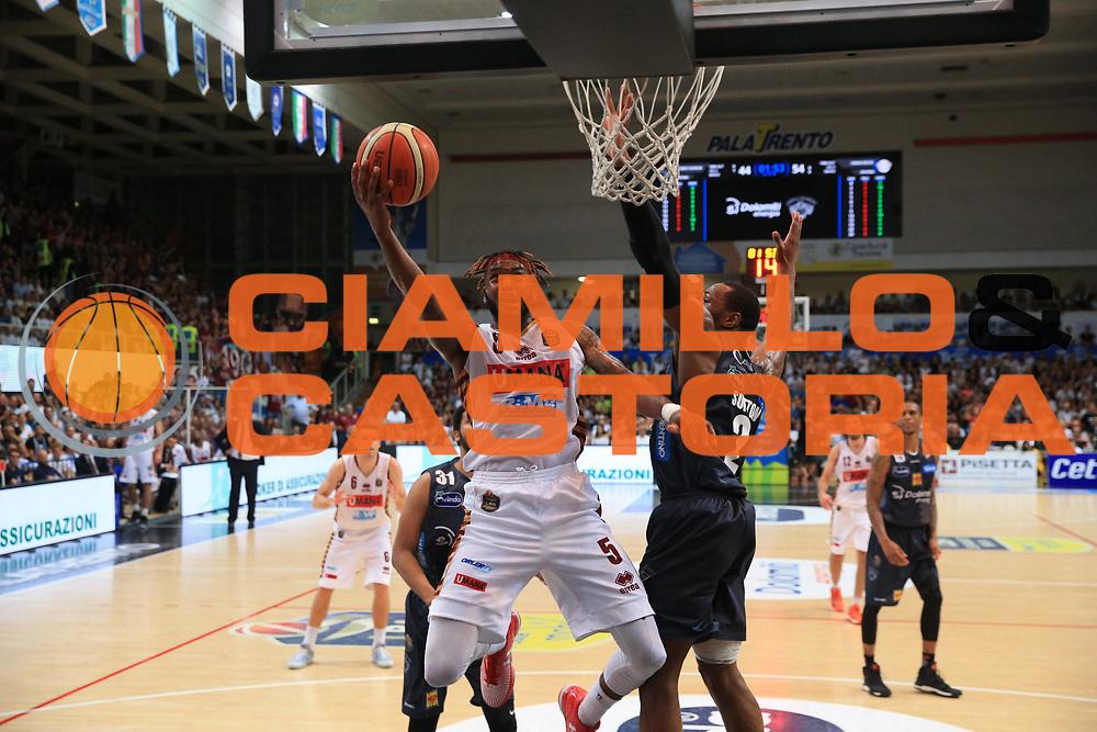 stone<br /> Dolomiti Energia Trento - Umana Venezia<br /> Finale Gara 6<br /> Legabasket A 2016/2017<br /> Trento 20/06/2017<br /> Foto Ciamillo-Castoria