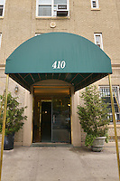 Entrance at 410 Central Park West