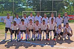 Milan da Restinga e SER América, no campo Intercap, em partida válida pela Copa Kaiser de Futebol Amador 2012.  FOTO: Jefferson Bernardes/Preview.com