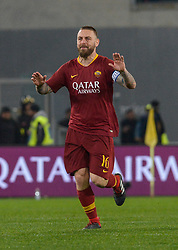 February 3, 2019 - Italy - Daniele De Rossi during the Italian Serie A football match between A.S. Roma and A.C. Milan at the Olympic Stadium in Rome, on february 03, 2019. (Credit Image: © Silvia Lore/NurPhoto via ZUMA Press)