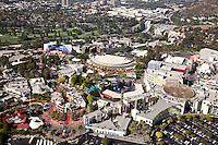 Universal Studios in the Hollywood Hills, Los Angeles, California.