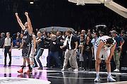 Guido Rosselli, Luca Gandini<br /> Segafredo Virtus Bologna - Kontatto Fortitudo Bologna<br /> Campionato Basket LNP 2016/2017<br /> Bologna 06/01/2017<br /> Foto Ciamillo-Castoria