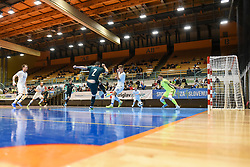 Players during futsal friendly match between National teams of Slovenia and Italy, on December 3, 2019 in Maribor, Slovenia. Photo by Milos Vujinovic / Sportida