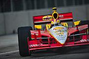 September 1-3, 2011. Helio Castroneves, Indycar Grand Prix of Baltimore around the inner harbor.