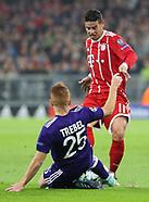 FC Bayern Munich v RSC Anderlecht - 12 September 2017