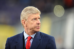 Arsenal Manager, Arsene Wenger - Photo mandatory by-line: Dougie Allward/JMP - Mobile: 07966 386802 - 22/10/2014 - SPORT - Football - Anderlecht - Constant Vanden Stockstadion - R.S.C. Anderlecht v Arsenal - UEFA Champions League - Group D