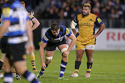 Jamal Ford-Robinson of Bristol Rugby looks on - Rogan Thomson/JMP - 18/11/2016 - RUGBY UNION - Recreation Ground - Bath, England - Bath Rugby v Bristol Rugby - Aviva Premiership.