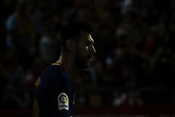 September 23, 2017 - Girona, Spain - Leo Messi from Argentina of FC Barcelona during the La Liga match between Girona FC v FC Barcelona  at Montilivi Stadium on September 23, 2017 in Girona, Spain. (Credit Image: © Xavier Bonilla/NurPhoto via ZUMA Press)